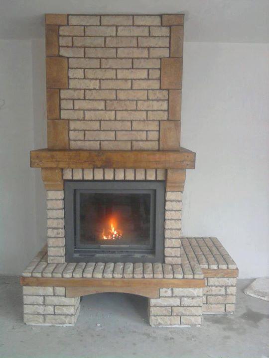 Камина изработена и монтирана от фирма ДАС Добрчи ЕООД