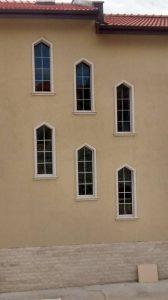 прозорци тип църкони