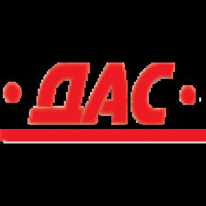 част от логото на фирма ДАС